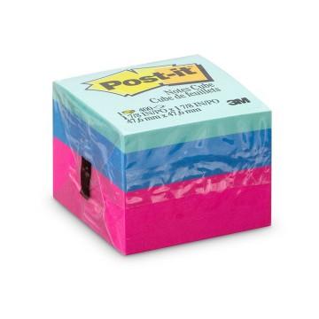 Bloco Adesivo Post-it Cubo Ultra 47,6mm x 47,6mm 4...
