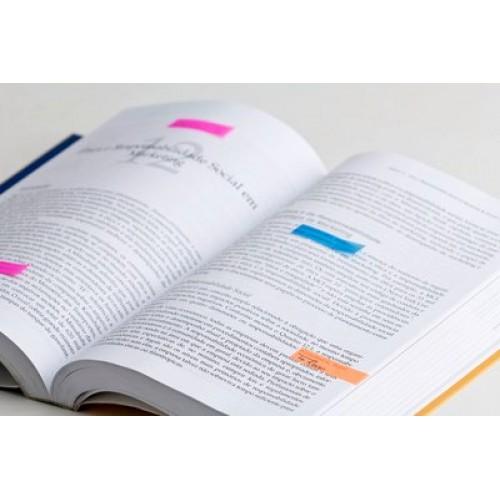 Marcador de Página Adesivo Post-it Flags 4 Cores 11,9 mm x 43,2 mm - 140 folhas - 3M - 683-4ABX