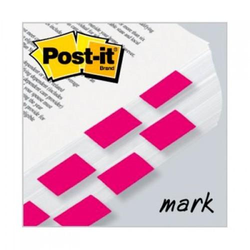 Marcador De Página Adesivo Post-It Flags 680-BP2 Rosa 100 Folhas 3M - 3M - 680-BP2