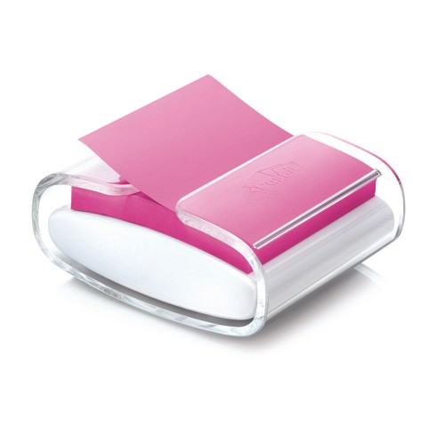Suporte Para Recado Adesivos Post-It Pop-Up 76x76mm Rosa 100 Folhas - 3m - 3M - Pop-UP