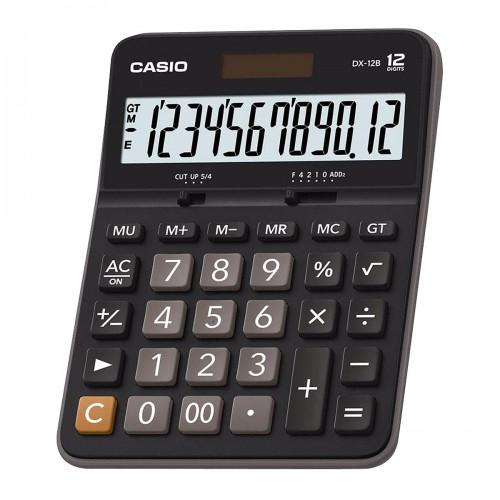 Calculadora Mesa Preto DX - 12B 12 Dígitos Casio