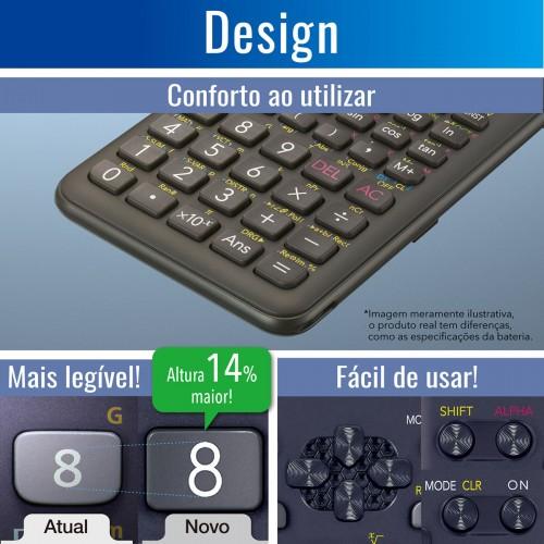 Calculadora Científica 240 Funções FX-82 MS CASIO