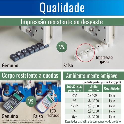 Calculadora Científica FX-82ES Plus BK Casio - Casio - FX-82ES Plus BK