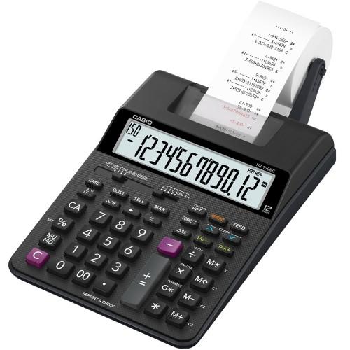 Calculadora Com Bobina HR-100RC-BK Bivolt Casio - Casio - HR-100RC-BK