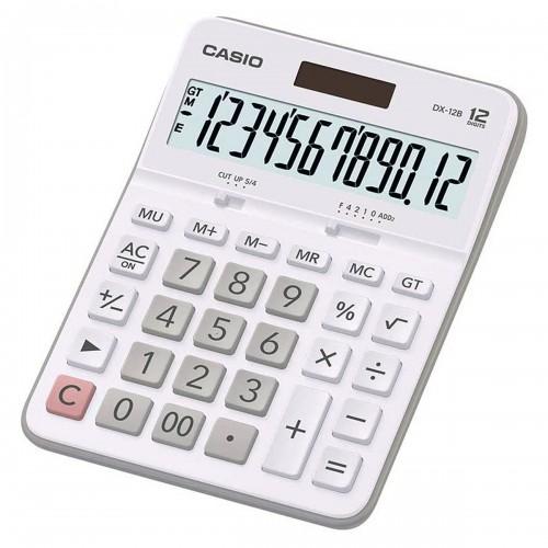 Calculadora Mesa BRANCA DX-12B 12 Dígitos Casio