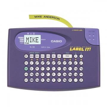 Etiquetador Rotulador Casio KL - 60 Eletrônico