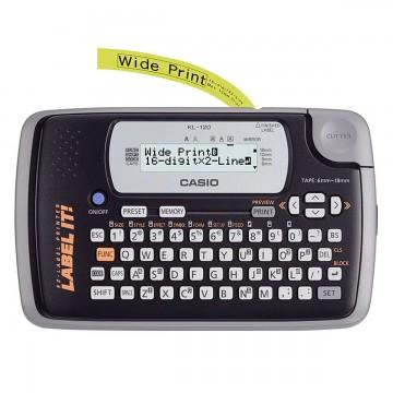 Etiquetador Rotulador Eletrônico Casio KL-120-W-DH...