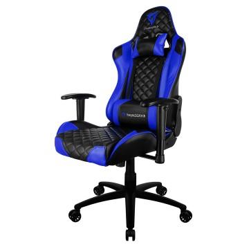 Cadeira Gamer Profissional TGC12 Preta Azul Thunderx3