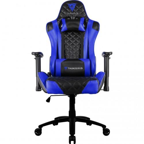 Cadeira Gamer Profissional TGC12 Preta / Azul Thunderx3 - Thunderx3 - TGC12 Azul/ Preta