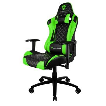 Cadeira Gamer Profissional TGC12 Preta / Verde Thunderx3