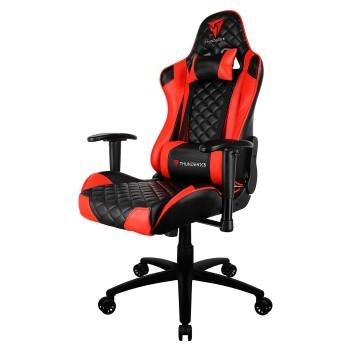 Cadeira Gamer Profissional TGC12 Preta / Vermelha Thunderx3