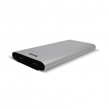Bateria Portátil Power Bank Dual Alumium 12000 USB Maxprint