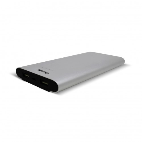 Bateria Portátil Power Bank Dual Alumium 12000 USB Maxprint - MaxPrint - Power Bank Dual Alumium 12000