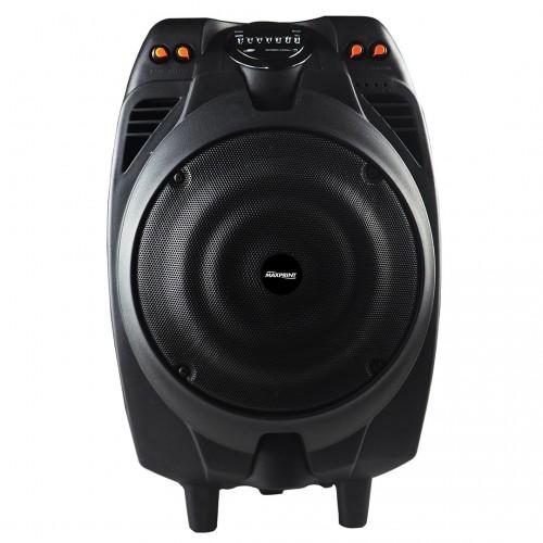 Caixa De Som Amplificada Maxprint 300w Max Power Preta 7 Em 1 - MaxPrint - Amplificada Maxprint 300w