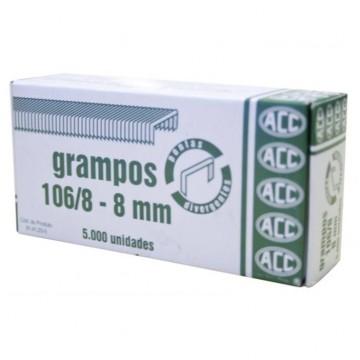 Grampo 106/8 Rocama Galvanizado 5000 Grampos Acc