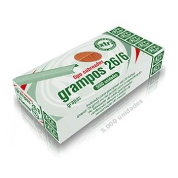 Grampo 26/6 Cobreado Extra 5000 Grampos Acc 10 Cai...