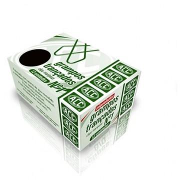 Grampo Trançado N 1 Niquelado Acc 10 Caixas