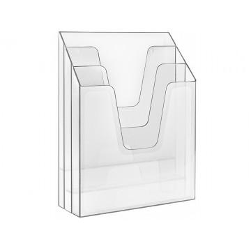 Organizador Vertical Cristal Acrimet