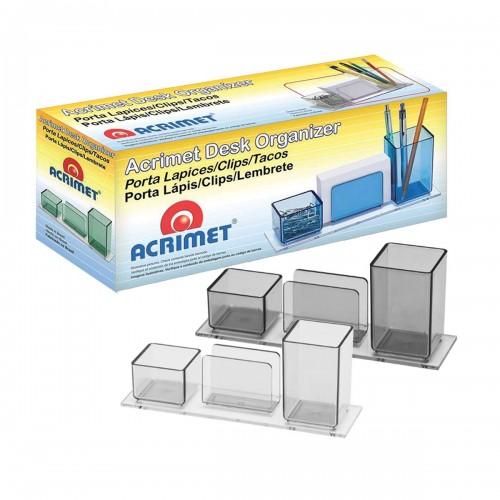 Porta Lápis/Clips/Lembrete 940 Cristal Acrimet - Acrimet - 940.3