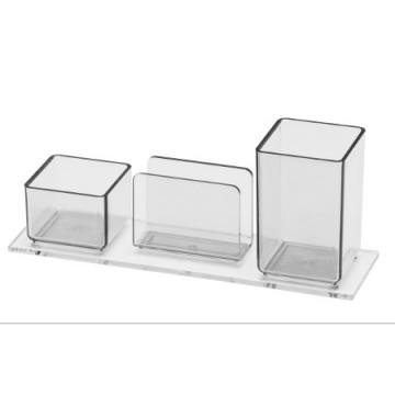 Porta Lápis/Clips/Lembrete 940 Cristal Acrimet