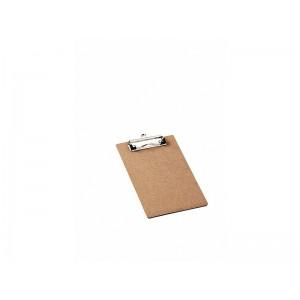 Prancheta Pequena 1/2 Oficio Mdf Prendedor Wire Clip Acrimet