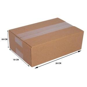 Caixa De Papelão Embalagem 28 x 18 x 09 cm 25 Unidades