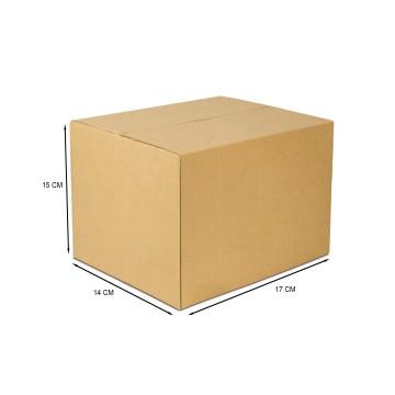 Caixa De Papelão Embalagem 17 x 14 x 15 cm 25 Unidades