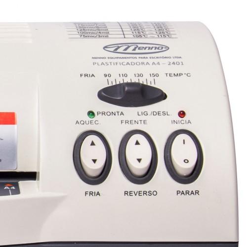 Plastificadora Laminadora A4 2401 Menno - Menno - A4 2401