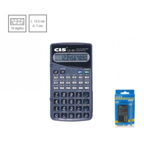 Calculadora Cientifica CC-401 10 Digitos Cis - CIS - CC-401