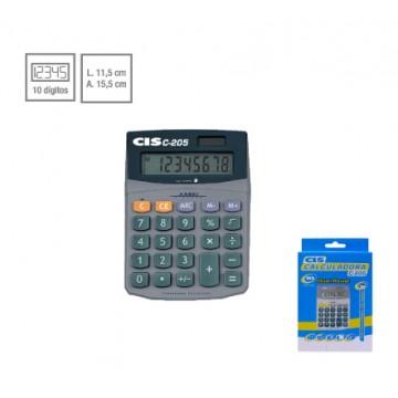 Calculadora De Mesa C-205 8 Dígitos Cis