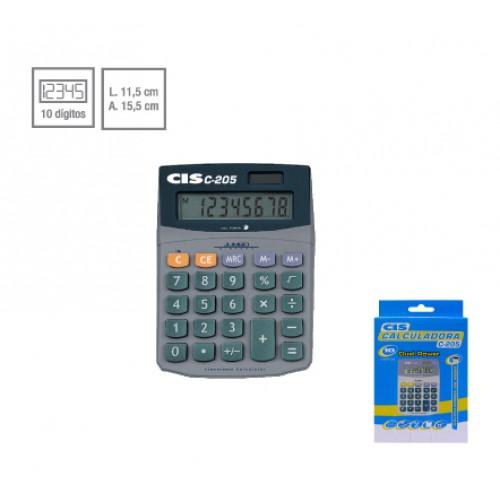 Calculadora De Mesa C-205 8 Dígitos Cis - CIS - C-205