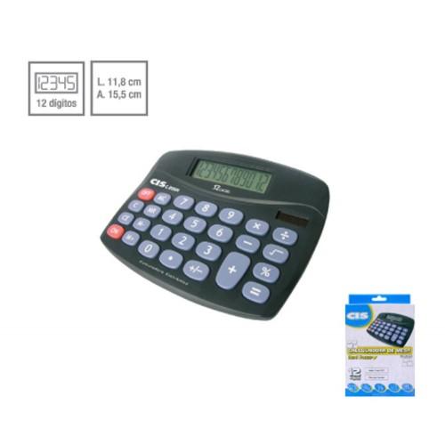 Calculadora De Mesa C-206n 12 Dígitos Cis - CIS - C-206N