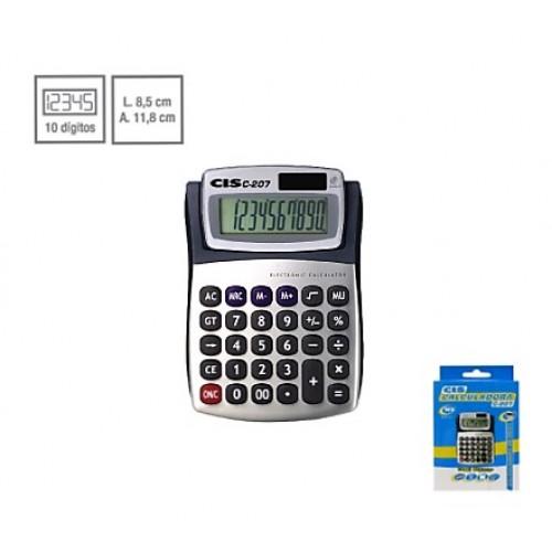 Calculadora De Mesa C-207 10 Dígitos Cis - CIS - C-207