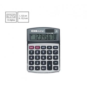 Calculadora De Mesa C-210 8 Dígitos Cis