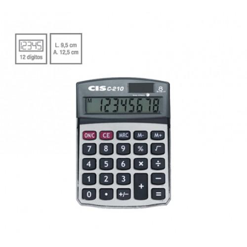 Calculadora De Mesa C-210 8 Dígitos Cis - CIS - C-210