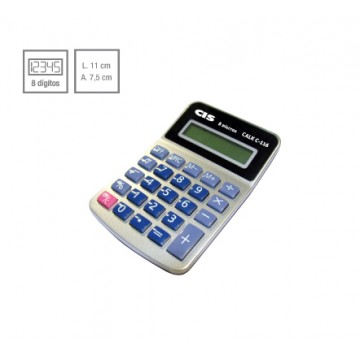 Calculadora De Mesa Calk C-116 8 Dígitos Cis