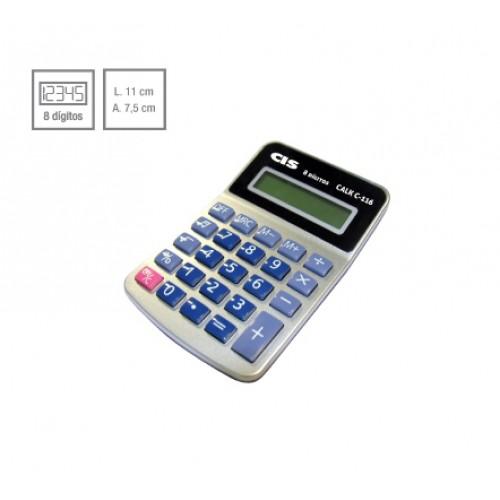 Calculadora De Mesa Calk C-116 8 Dígitos Cis - CIS - C-116