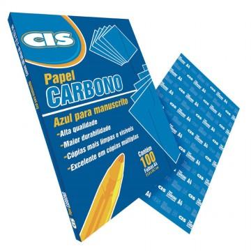 Carbono Papel Manuscrito Azul Cis 100 Folhas