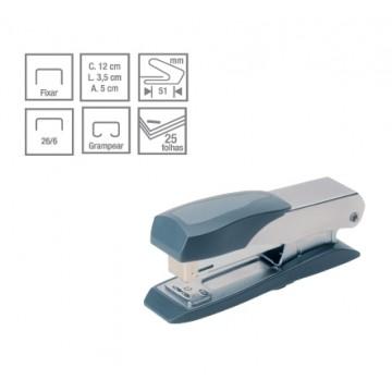 Grampeador  C-10 Metallic  Compact 25 Folhas Cis