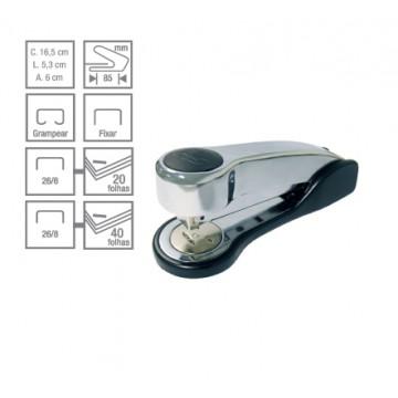 Grampeador C-20 Metallic 40 Folhas Cis