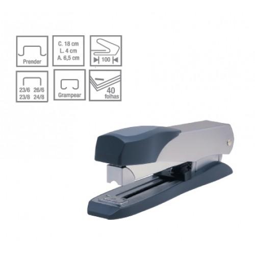 Grampeador Metallic C-15 40 Folhas Cis - CIS - C-15