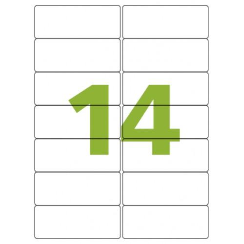 Etiqueta Adesiva A4 CA4363 99,1 x 38,1 mm 100 Folhas Colacril - ColaCril - CA4363