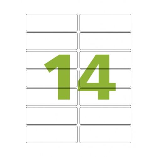 Etiqueta Adesiva Carta CC182 33,9 x 101,6 mm 100 Folhas Colacril - ColaCril - CC182