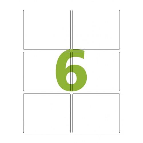 Etiqueta Adesiva Carta CC184 84,7 x 101,6 mm 100 Folhas Colacril - ColaCril - CC184