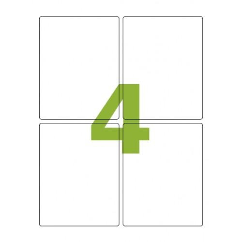 Etiqueta adesiva Carta CC188 138,11 x 106,36 mm Colacril 100 Folhas - Colacril - CC188