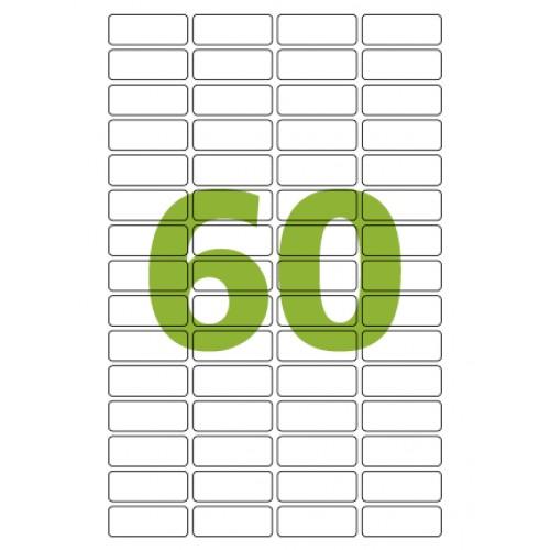 Etiqueta Adesiva Carta CC189 16,93 x 44,45 mm 100 Folhas Colacril - ColaCril - CC189