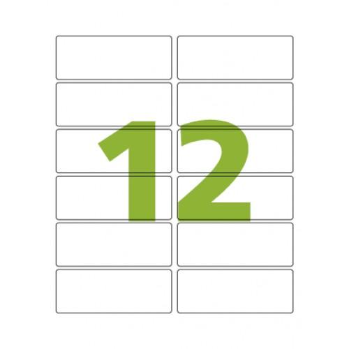 Etiqueta Adesiva Carta CC197 38,1 x 101,6 mm 100 Folhas Colacril - ColaCril - CC197