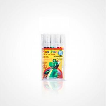 Caneta Hidrocor Neo Pen Mirin 06 Cores 5 Unidades