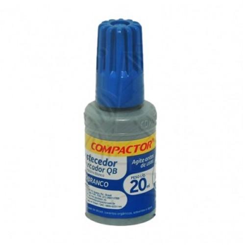 Tinta Marcador Quadro Branco 20ml Azul | 12 Unidades - Compactor - QB12