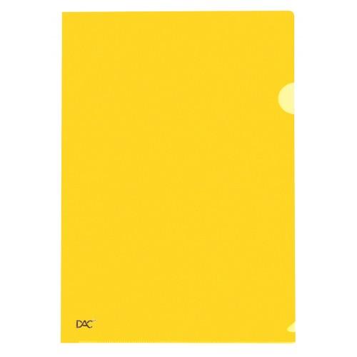 Pasta Em L A4 Amarela New Line Dac 10 Unidades - DAC - Pasta em L A4